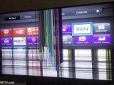 خرید تلویزیون پنل شکسته