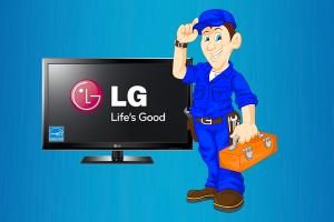 علت روشن نشدن تلویزیون ال جی